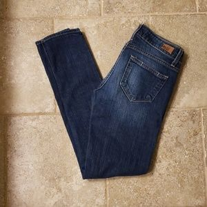 Very distressed Paige Verdugo Ultra Jeans